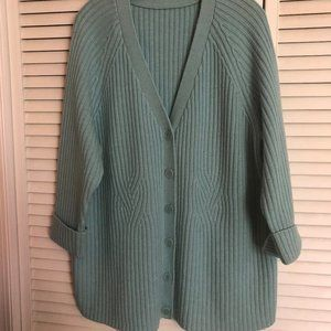 Pastel Blue Wool Sweater